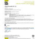 CERTIFICAT HP KEYMARK ALFEA EXCELLIA AI TRI 16 (DUO)