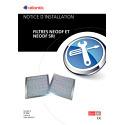 Notice d'installation filtres NEODF NEODF SRI