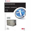 Notice d'installation DF90 RV 0-C - DF90 RV 0 EXT