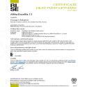 CERTIFICAT HP KEYMARK ALFEA EXCELLIA AI 11 (DUO)