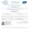 Certificat NF Duocosy HR