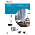 Documentation commerciale GAMME VMC HABITAT INDIVIDUEL