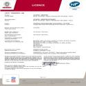 Certificat NF AQUACOSY AV 100L