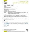 CERTIFICAT HP KEYMARK ALFEA EXCELLIA AI TRI 14 (DUO)