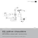 Notice Kit relève chaudière Alfea Excellia A.I. et Extensa A.I.