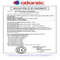 Certificat CE Stelair 450-500-560-630-710-800