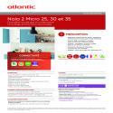NAIA 2 MICRO 25 30 35 Fiche prescription Atlantic