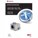 Notice d'installation AIRVENT M402 M652 M902 / J
