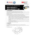 Notice d'installation mini airvent 3 et mini airvent 3 sri