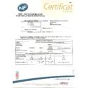 certificat NF COREL 2