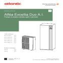 Notice d'installation alfea excellia duo A.I.