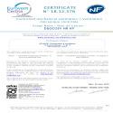 Certificat NF duocosy hr hy