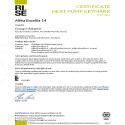 CERTIFICAT HP KEYMARK ALFEA EXCELLIA AI 14 (DUO)