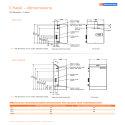Chesil pressurisation units dimensions