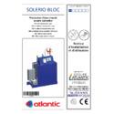 Notice d'installation et utilisation Solerio Bloc SB3 et SB4