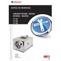 Notice d'installation AIRVENT M 1450 2250 1450J 2250J