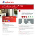ALFEA EXTENSA DUO AI R32 Fiche prescription Atlantic