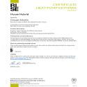 Certificat HP Keymark Hysae Hybrid