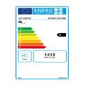 LINEO CONNECTE 80L Etiquette énergétique 157209 Atlantic
