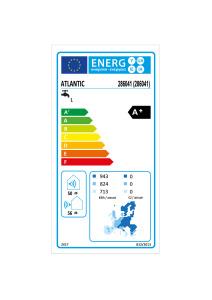 CALYPSO Connecte VS Etiquette energetique 286041 Atlantic