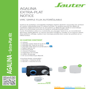 Notice installation simple flux Agalina Extra-Plat.pdf