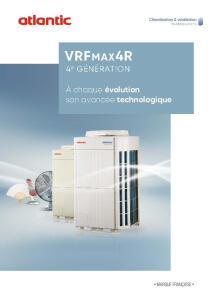 VRF MAX 4R doc commerciale ATLANTIC