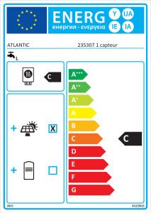 ETIQUETTE PACKAGE SOLERIO OPTIMUM 2 EC 200 + 1 CAPTEUR