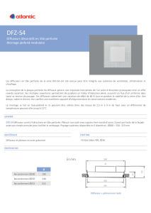 DIFFUSEURS DFZ S4 fiche produit ATLANTIC