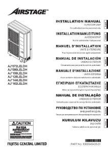 EASYVRF 4 notice installation AJY 72 90 108 126 144 162 LELBH ATLANTIC