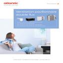 VENTILLATION PAVILLONNAIRE DOUBLE FLUX Documentation commerciale ATLANTIC