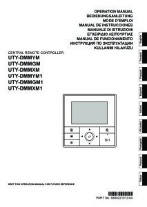 TELECOMMANDE FILAIRE 5 POSTE notice utilisation DMMYM1 ATLANTIC