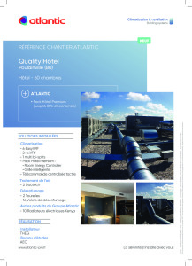 FICHE REFERENCE CHANTIER QUALITY HOTEL ATLANTIC