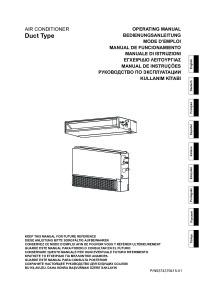 GAINABLES COMPACT CONFORT R410A MULTI-SPLITS notice utilisation ARYG 7 9 12 14 18 LLTA ARYG 12 14 18 LLTB ATLANTIC