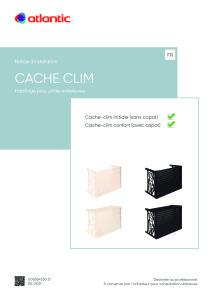 CACHE CLIM notice installation ATLANTIC