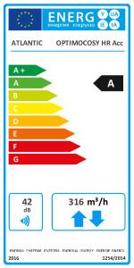 Étiquette Énergétique - OPTIMOCOSY HR ACCESS