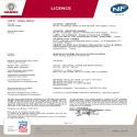 Certificat NF Doris Digital Mixte