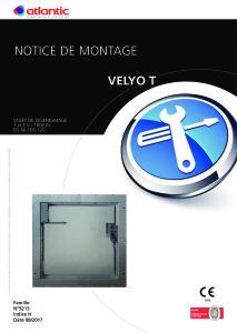 Notice Installation VELYO T