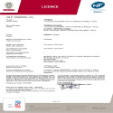Certificat NF Agilia PI Horizontal