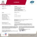 Certificat NF Sokio Horizontal