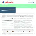 ENTREES D'AIR EAM Fiche produit EAM 15+G-35 BL 22+G-34 BL 30+G-33 BL ATLANTIC