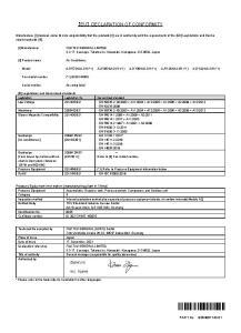 VRF MAX 4R declaration de conformite ATLANTIC