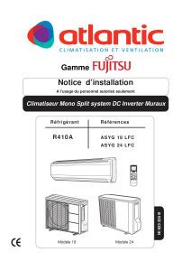 MURAUX LFC notice installation ASYG 18 24 LFC ATLANTIC