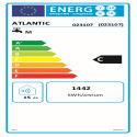 CHAUFFEO HM Etiquette energetique 023107 Atlantic
