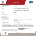 Certificat NF Calissia Vertical