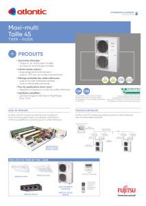 MAXI-MULTI UE 10 à 14 KW (TWIN) fiche produit TAILLE 45 ATLANTIC