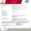 Certificat NF Tatou Horizontal