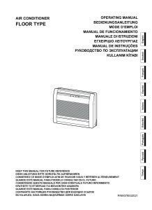 CONSOLES COMPACT CONFORT R410A notice d'utilisation AGYG 9-12-14-LVC ATLANTIC