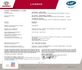 Licence NF Bilbao 3 Vertical
