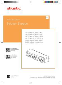 SHOGUN notice installation ATLANTIC