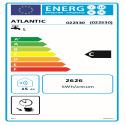 CHAUFFEO VS Etiquette energetique 022330 Atlantic